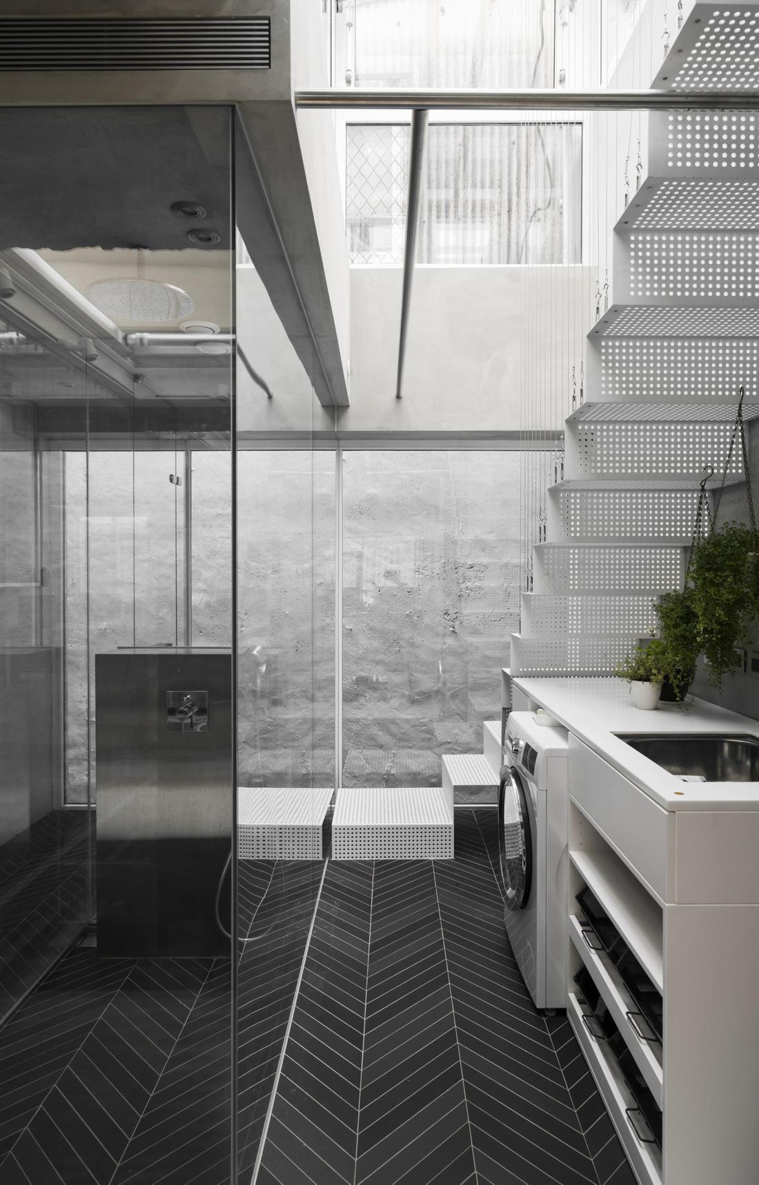 Дом в густонаселенном Тайбэе от студии KC Design Studio 26