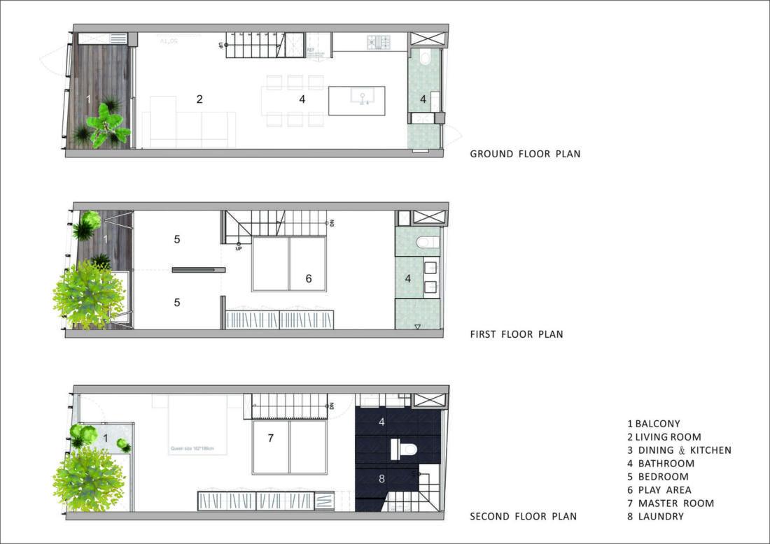 Дом в густонаселенном Тайбэе от студии KC Design Studio 30