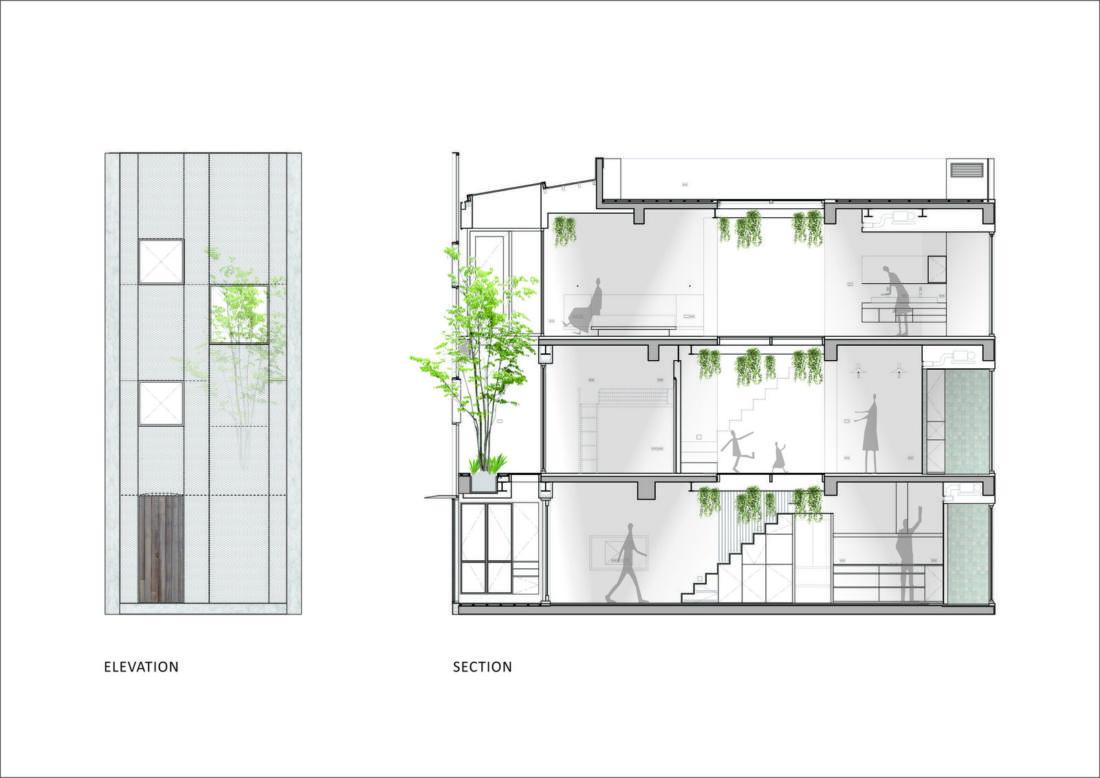 Дом в густонаселенном Тайбэе от студии KC Design Studio 31