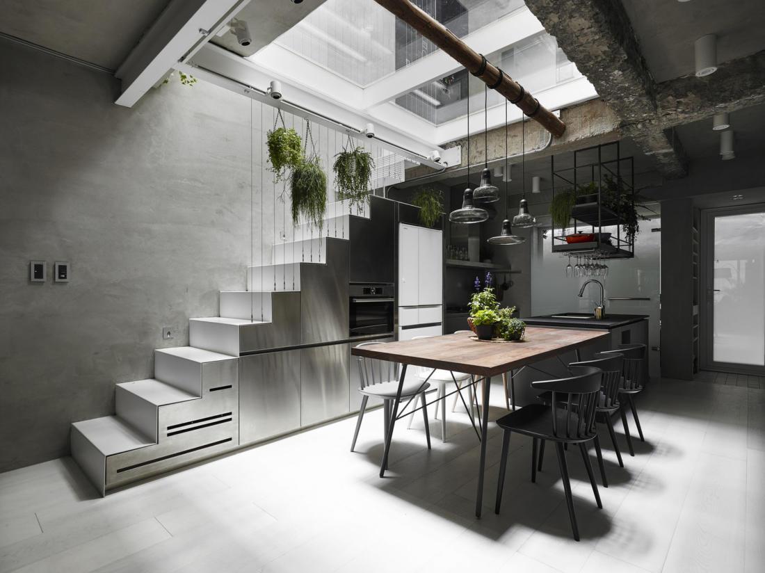 Дом в густонаселенном Тайбэе от студии KC Design Studio 5