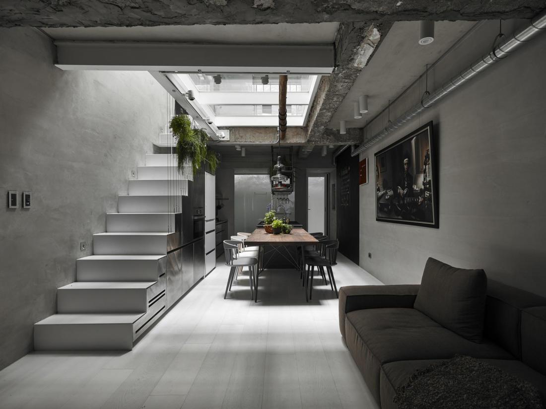 Дом в густонаселенном Тайбэе от студии KC Design Studio 6