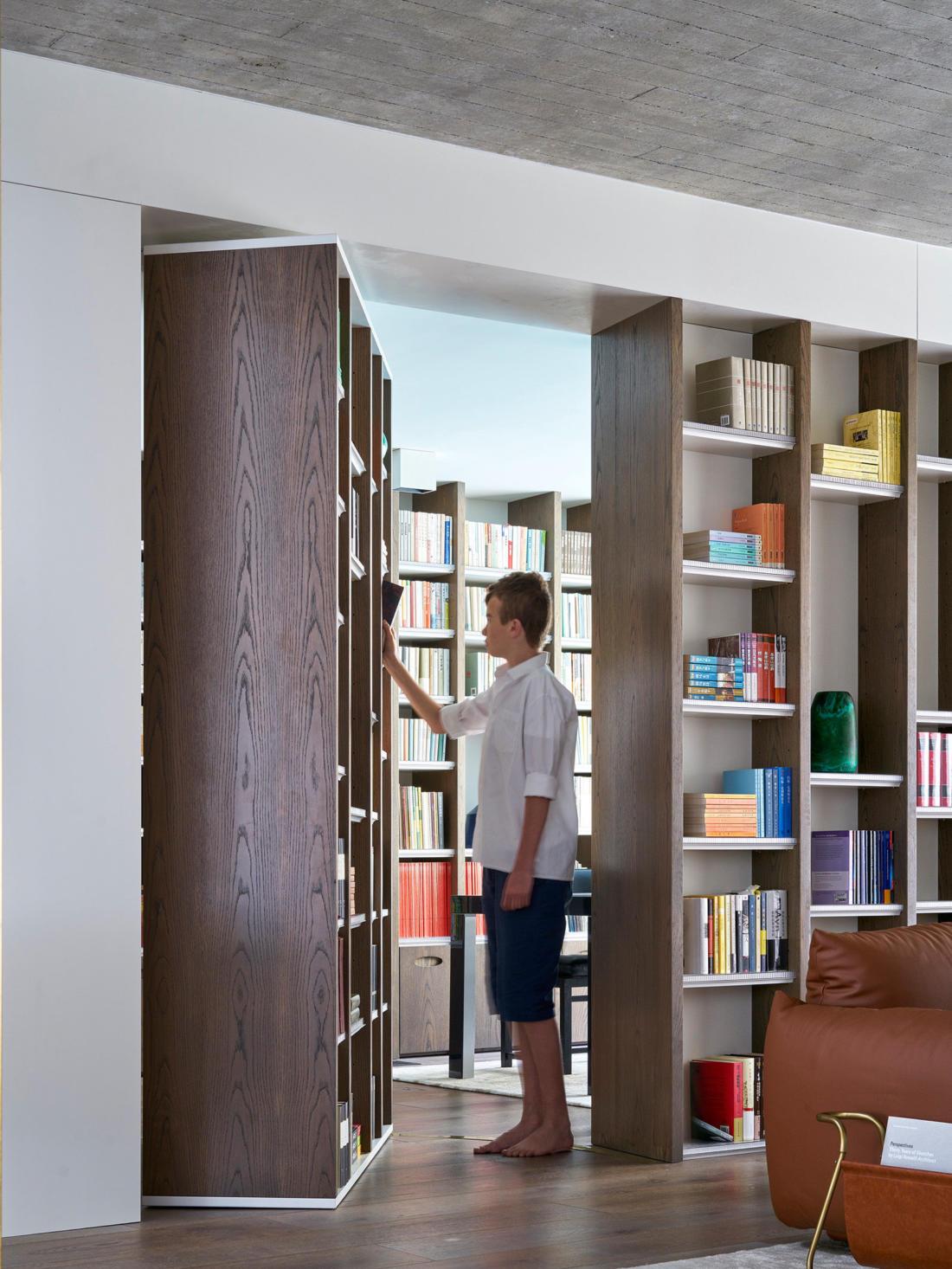 Книжный дом от Luigi Rosselli 20
