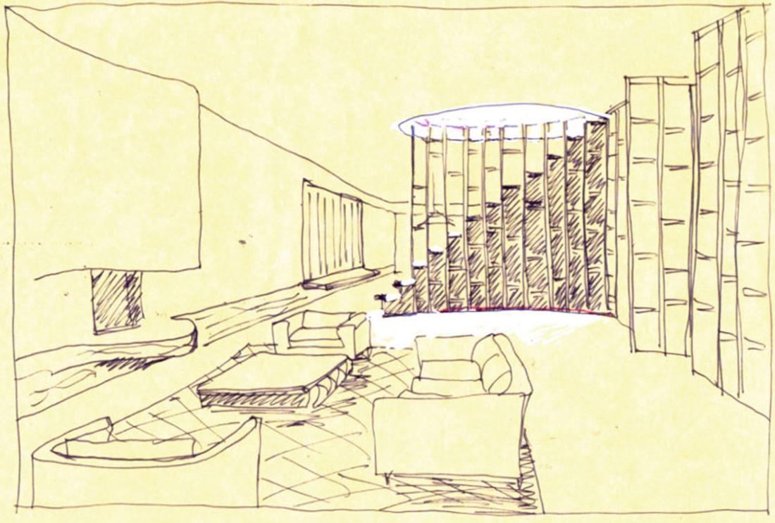 Книжный дом от Luigi Rosselli 44
