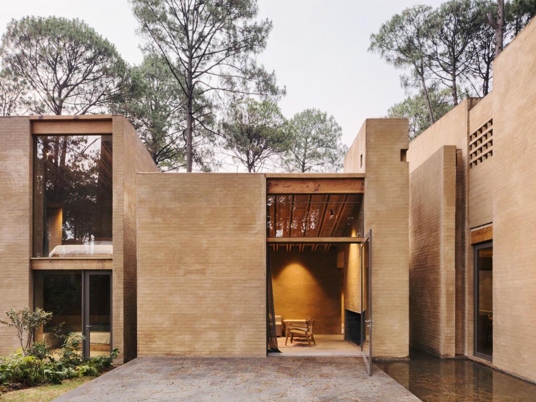 Проект таунхауса в Мексике от Taller Hector Barroso 1