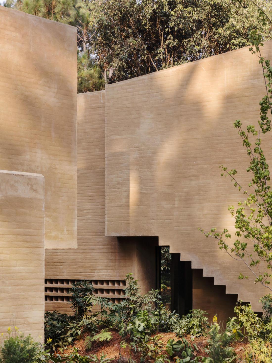 Проект таунхауса в Мексике от Taller Hector Barroso 17
