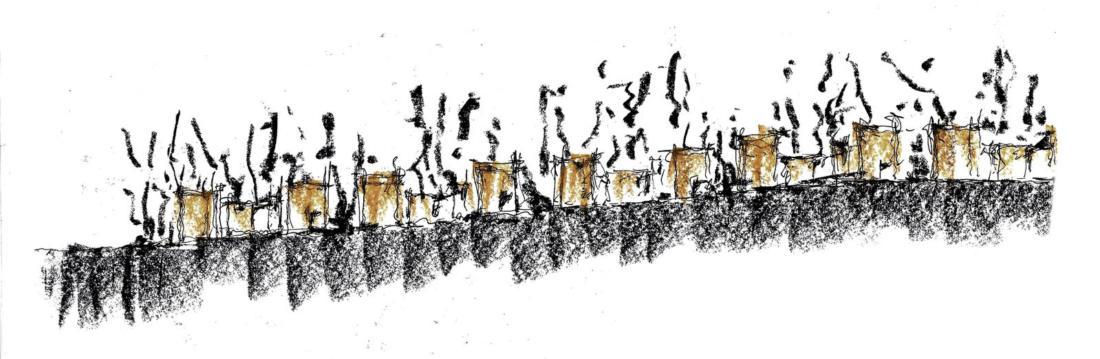 Проект таунхауса в Мексике от Taller Hector Barroso 22