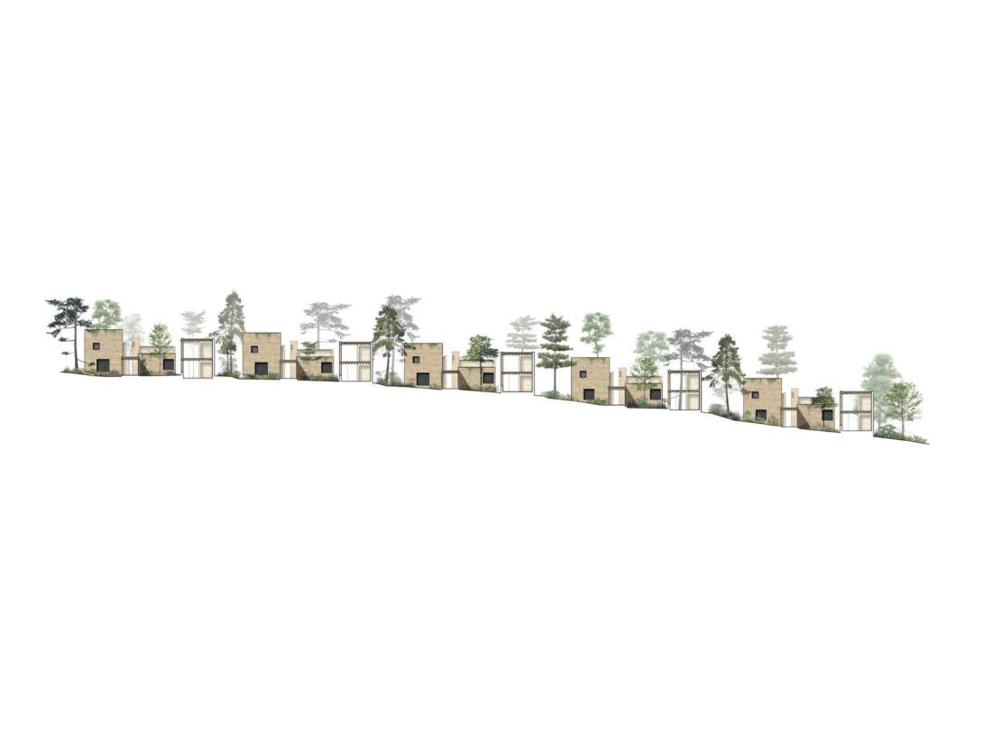 Проект таунхауса в Мексике от Taller Hector Barroso 25