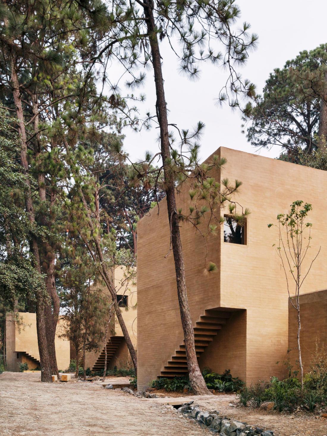 Проект таунхауса в Мексике от Taller Hector Barroso 3
