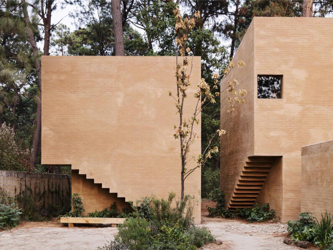 Проект таунхауса в Мексике от Taller Hector Barroso 5