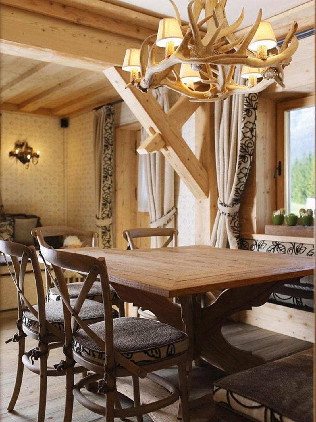 Деревянный интерьер дома по проекту Gianpaolo Zandegiacomo 002