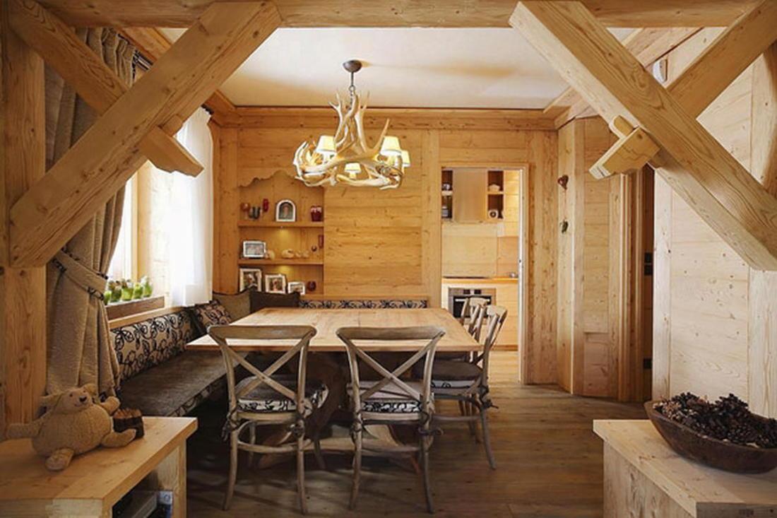 Деревянный интерьер дома по проекту Gianpaolo Zandegiacomo 003