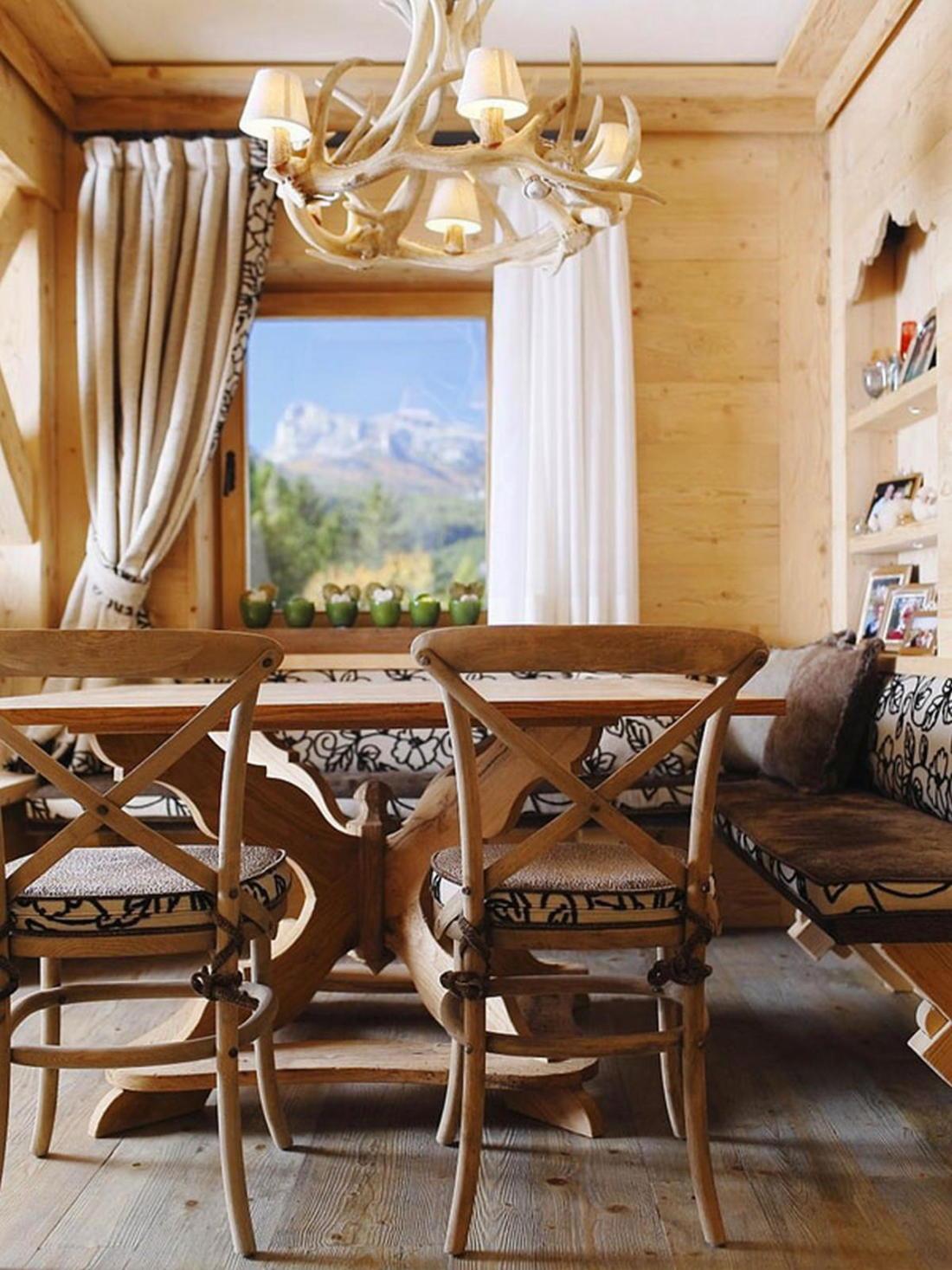 Деревянный интерьер дома по проекту Gianpaolo Zandegiacomo 007