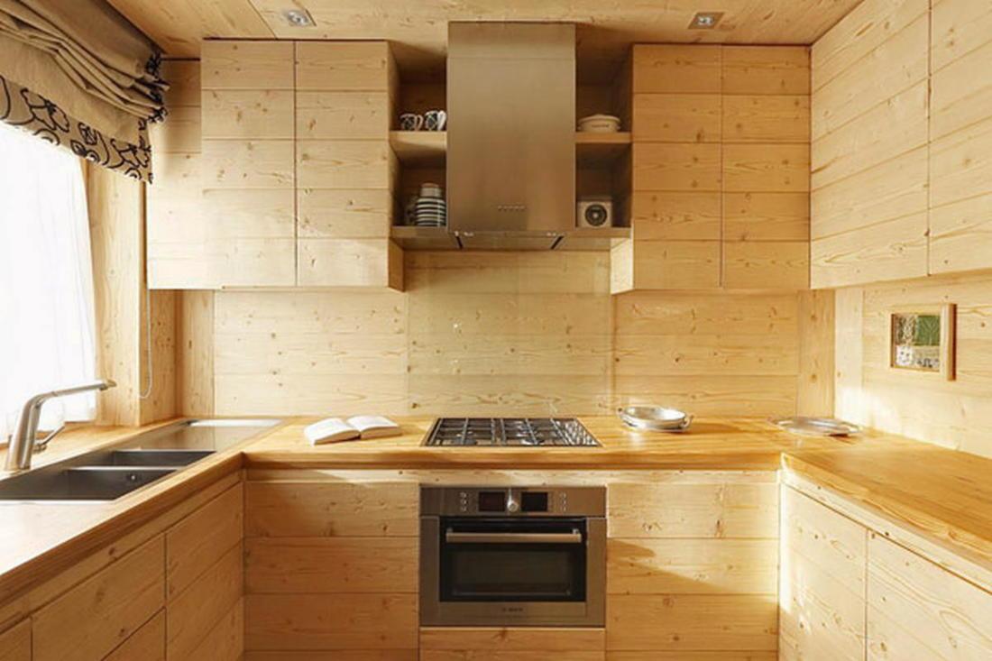 Деревянный интерьер дома по проекту Gianpaolo Zandegiacomo 014