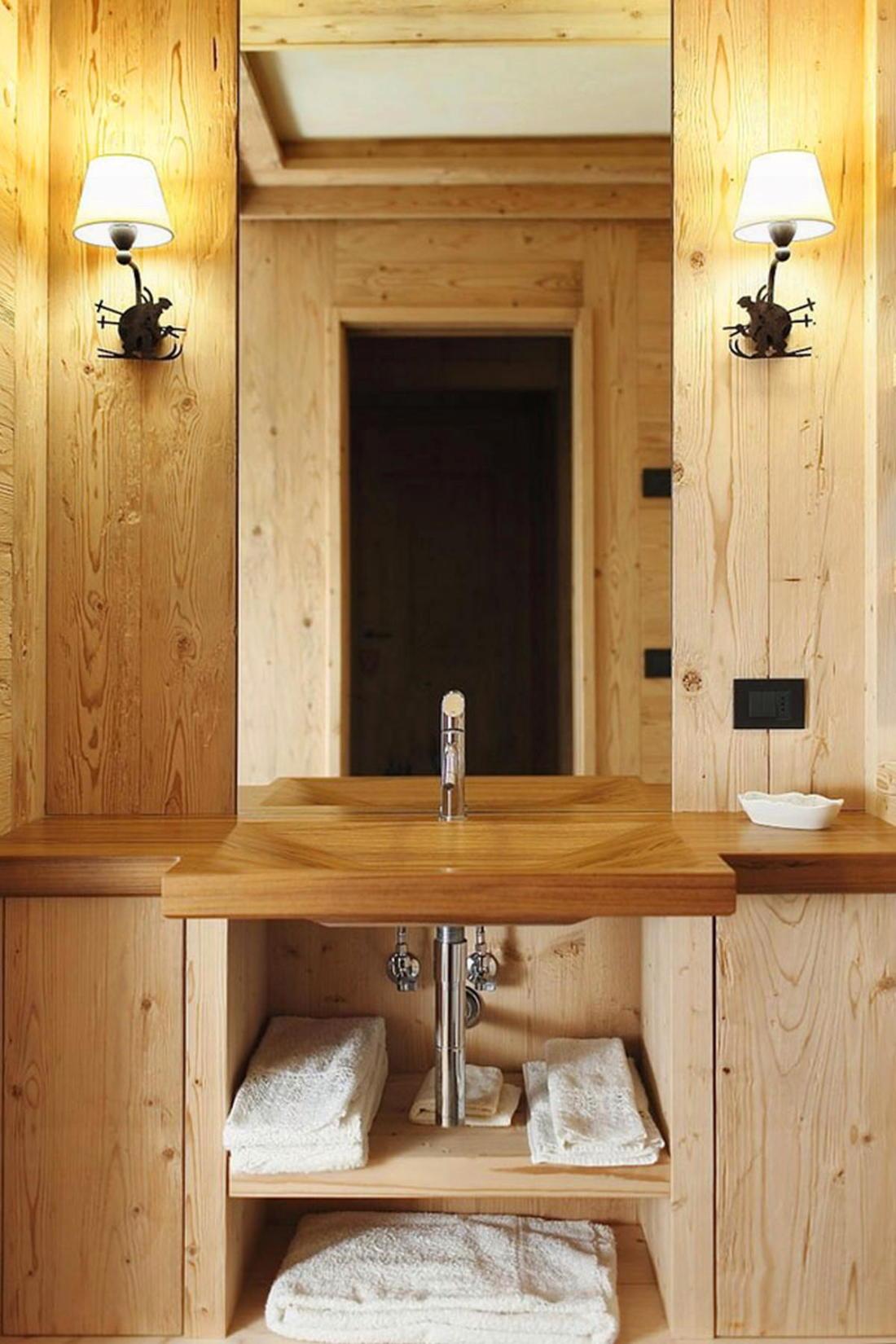 Деревянный интерьер дома по проекту Gianpaolo Zandegiacomo 015