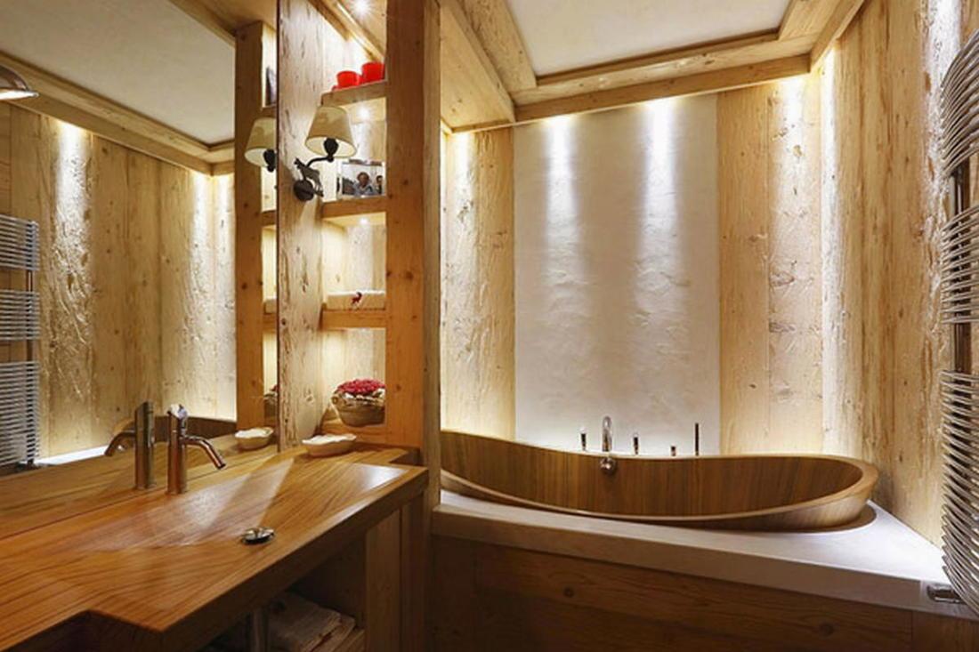 Деревянный интерьер дома по проекту Gianpaolo Zandegiacomo 016