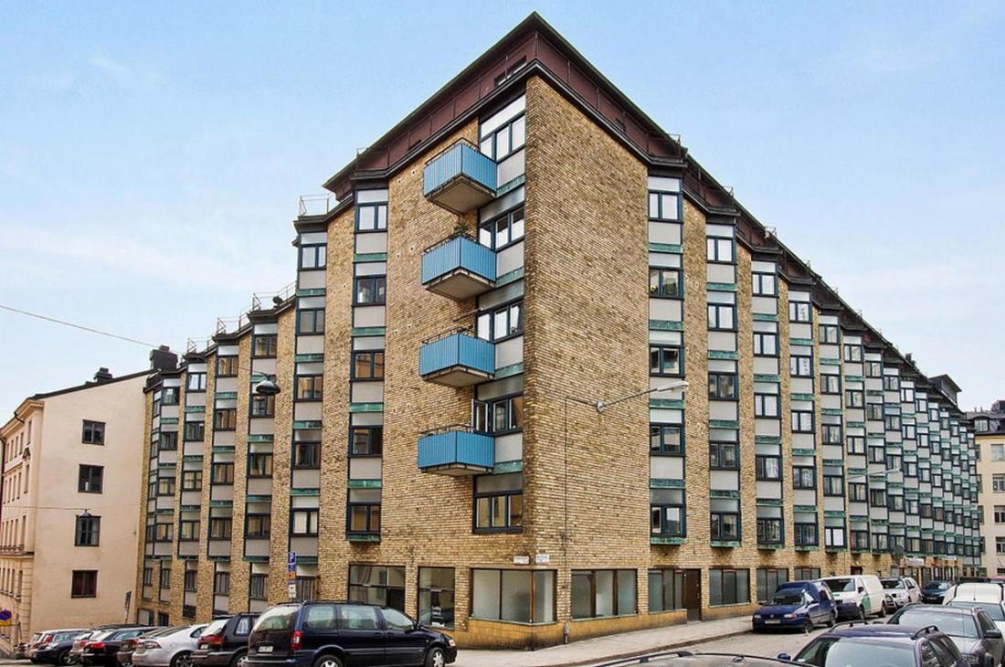 Интерьер белой квартиры в Стокгольме 24 кв. метра уюта 11
