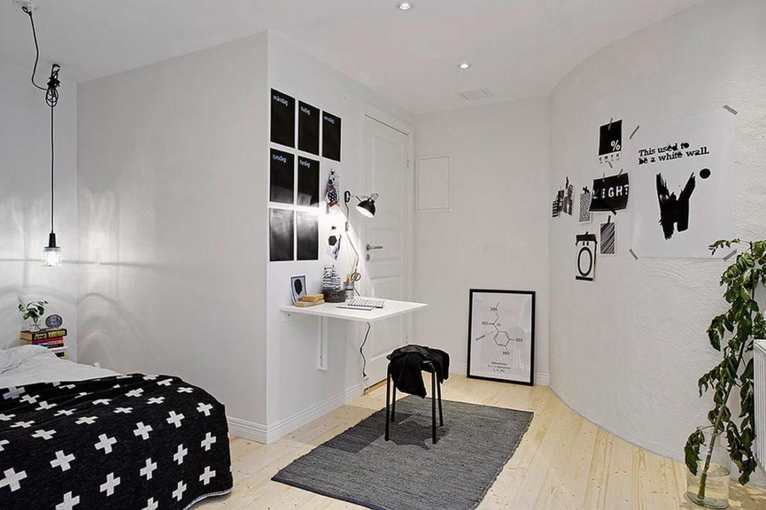 Квартира в Гетеборге пространство света и уюта 08