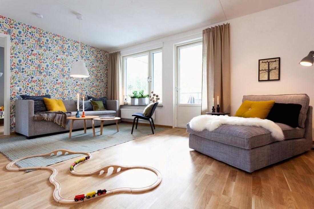 Квартира в Швеции дань традициям 1