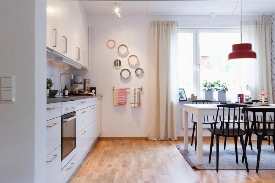 Квартира в Швеции дань традициям 10
