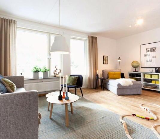 Квартира в Швеции дань традициям 2