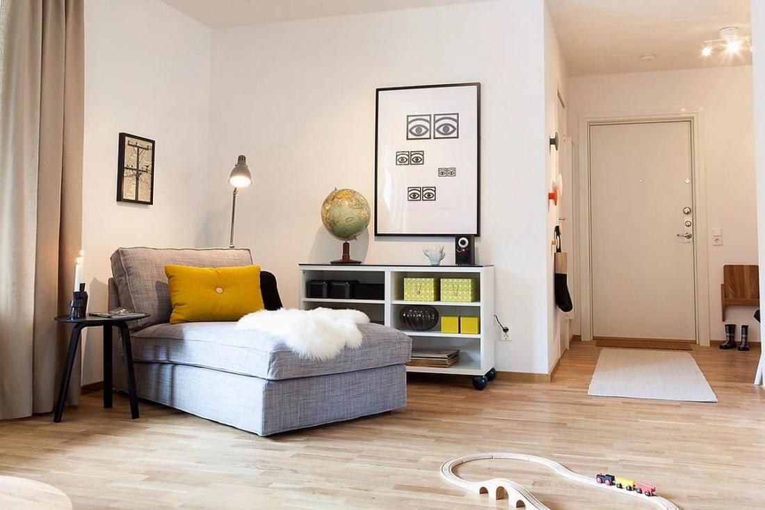 Квартира в Швеции дань традициям 4