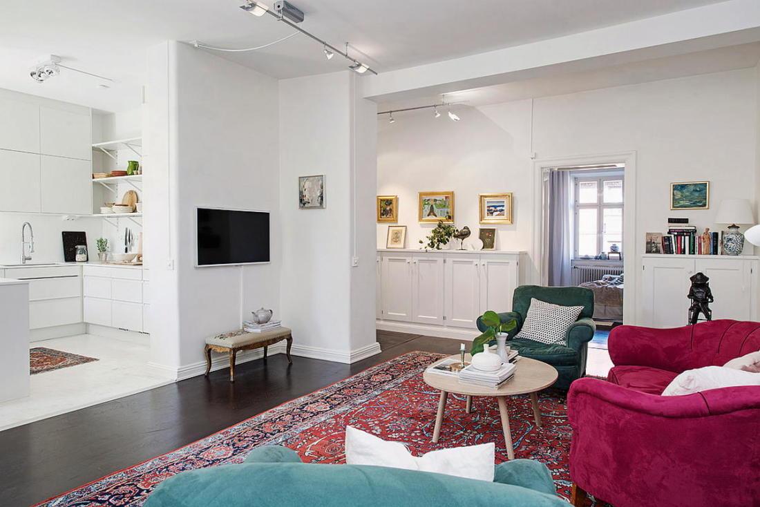 Квартира в Стокгольме апартаменты с изюминкой 06