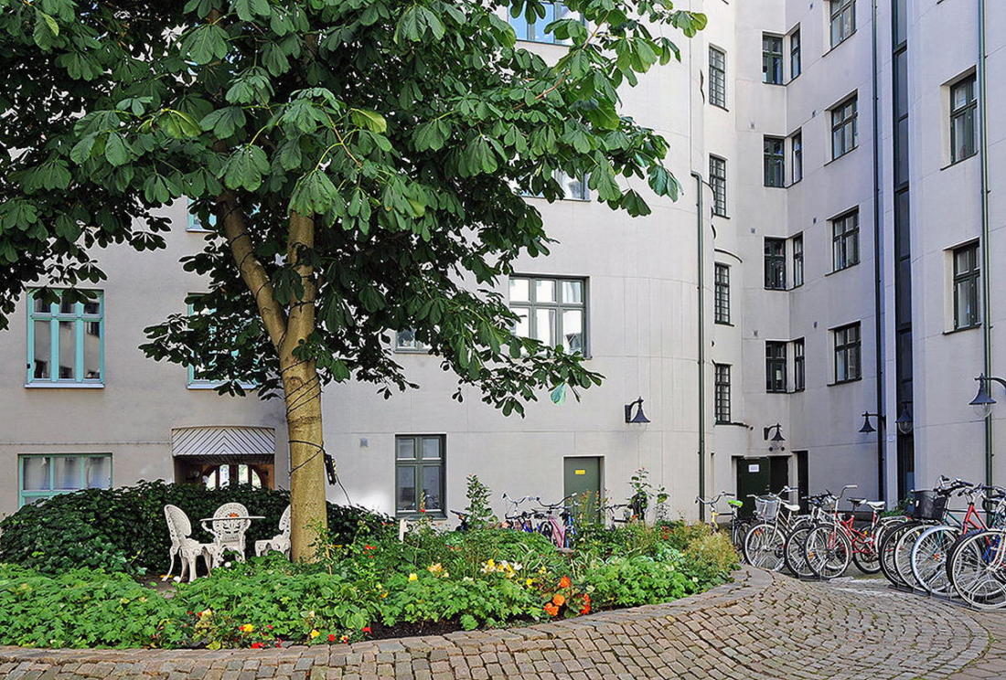 Квартира в Стокгольме апартаменты с изюминкой 12