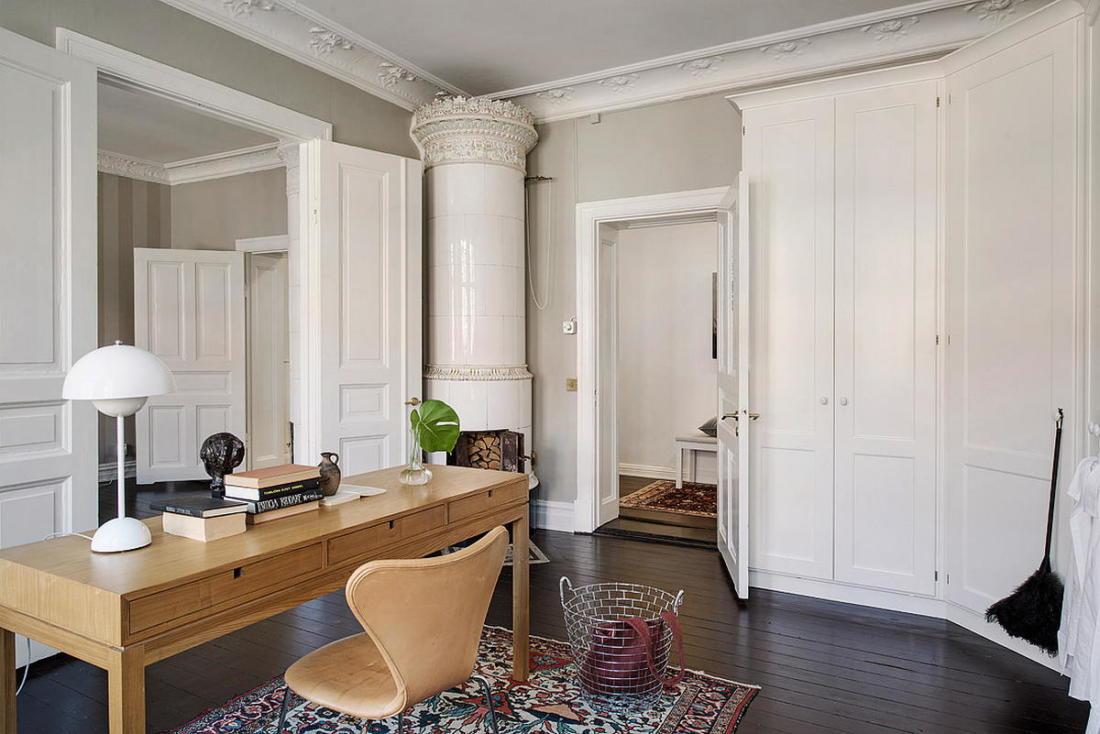 Квартира в Стокгольме апартаменты с изюминкой 16