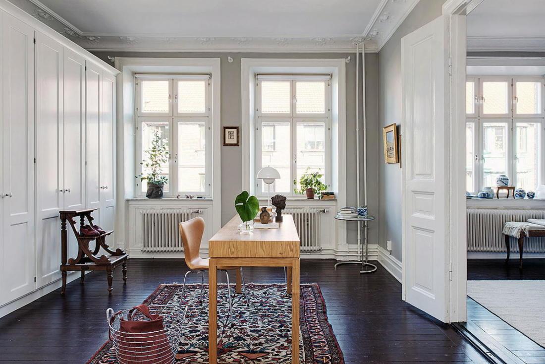 Квартира в Стокгольме апартаменты с изюминкой 18