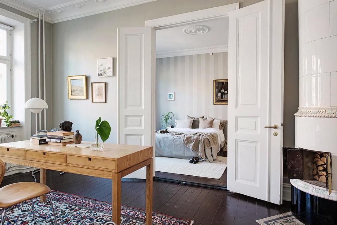 Квартира в Стокгольме апартаменты с изюминкой 21