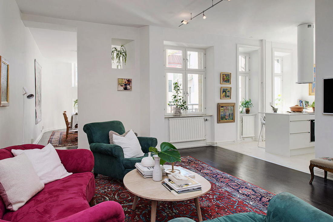 Квартира в Стокгольме апартаменты с изюминкой 22