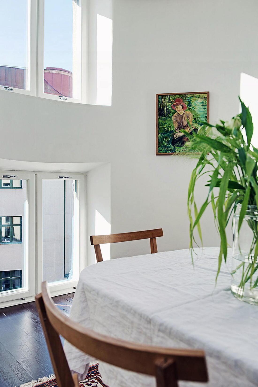 Квартира в Стокгольме апартаменты с изюминкой 26