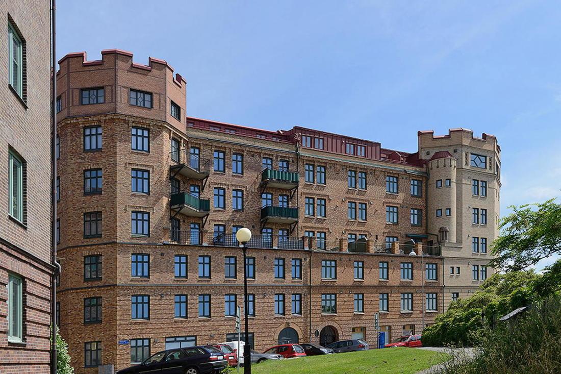 Квартира в Стокгольме апартаменты с изюминкой 28
