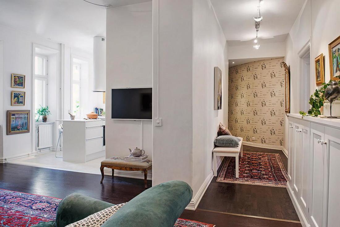 Квартира в Стокгольме апартаменты с изюминкой 33