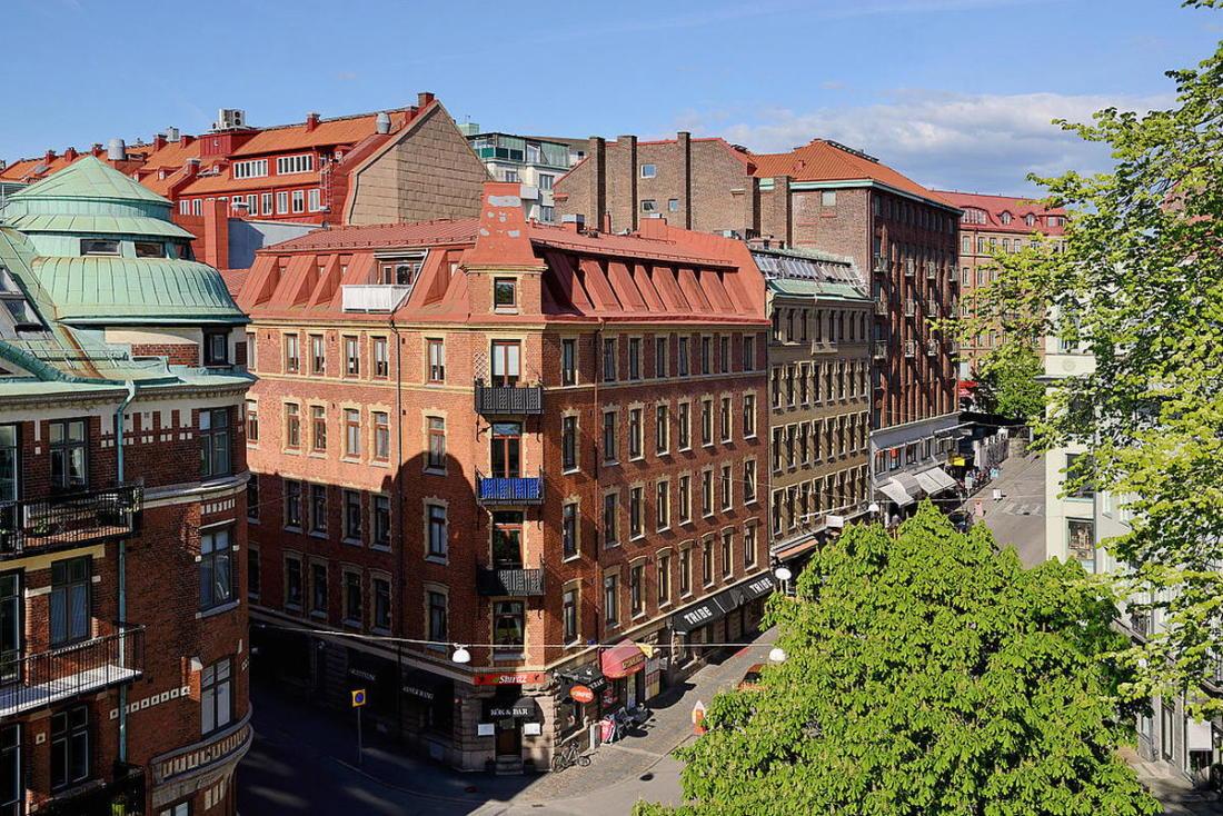 Квартира в Стокгольме апартаменты с изюминкой 35