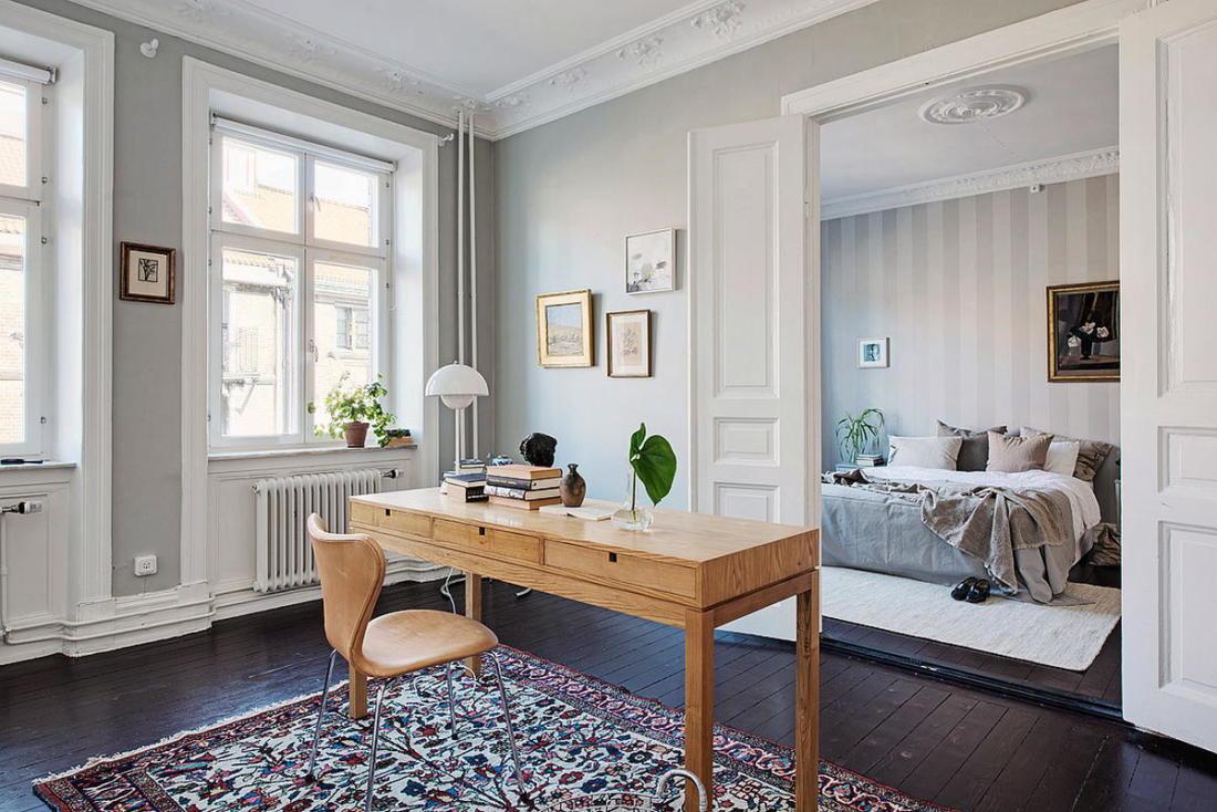 Квартира в Стокгольме апартаменты с изюминкой 36