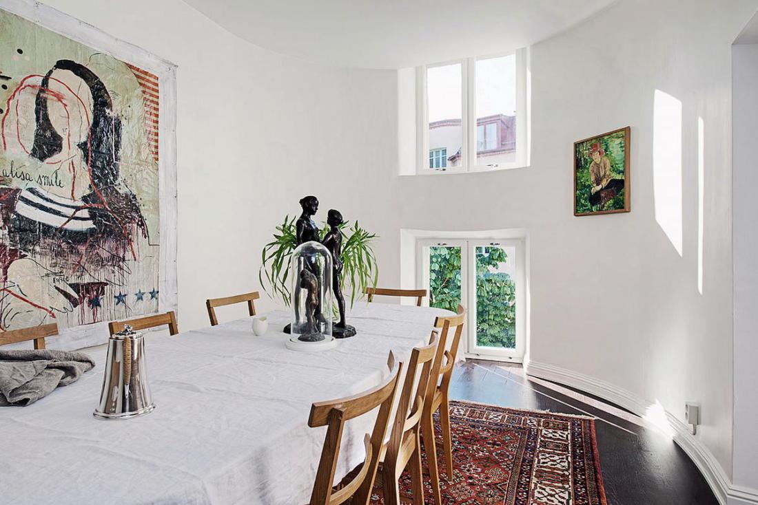 Квартира в Стокгольме апартаменты с изюминкой 38