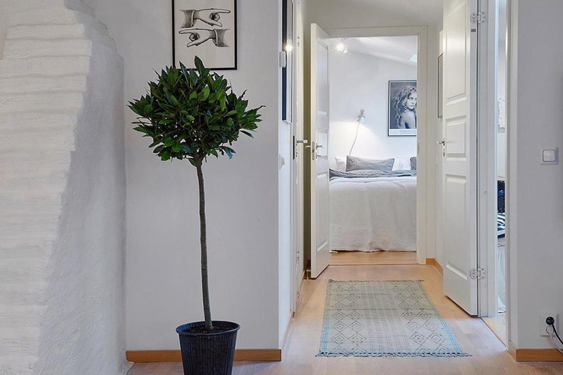 Мансардная квартира в скандинавском стиле 13