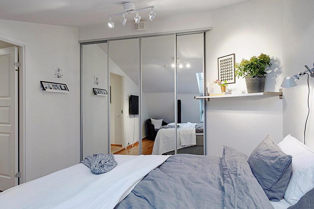 Мансардная квартира в скандинавском стиле 16