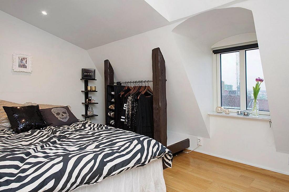 Мансардная квартира в скандинавском стиле 17