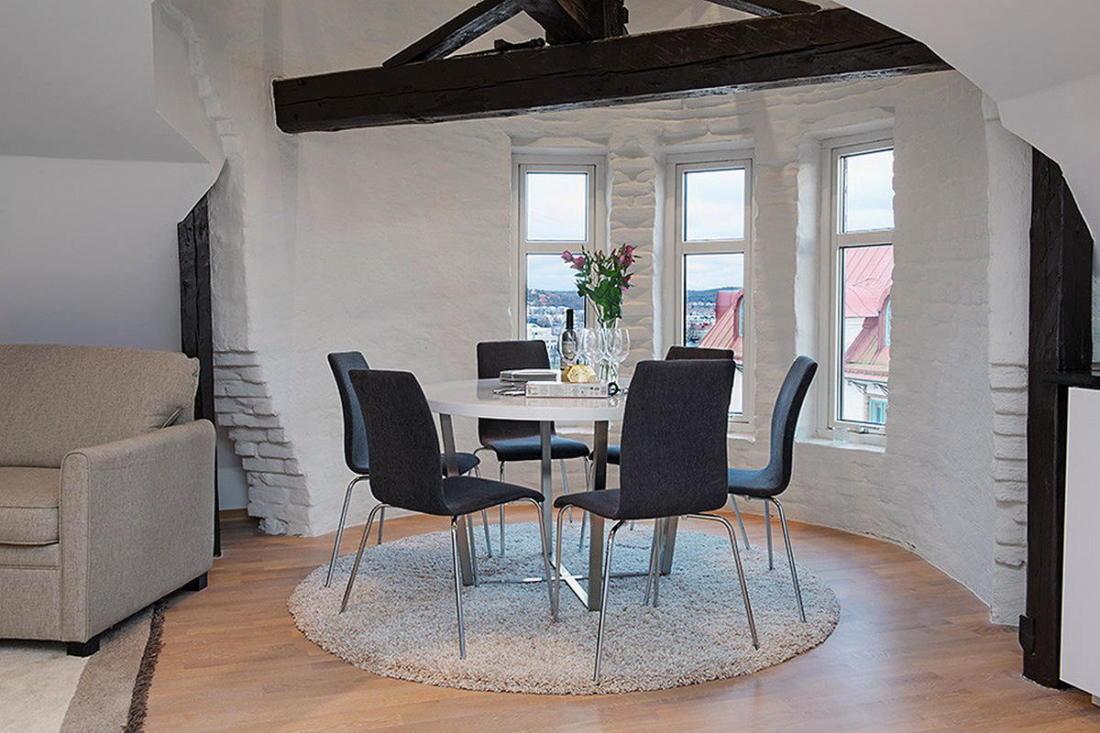 Мансардная квартира в скандинавском стиле 3