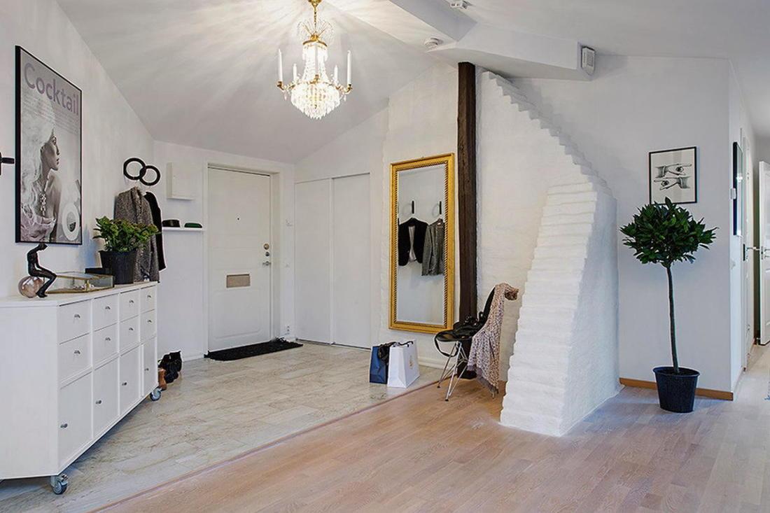 Мансардная квартира в скандинавском стиле 4