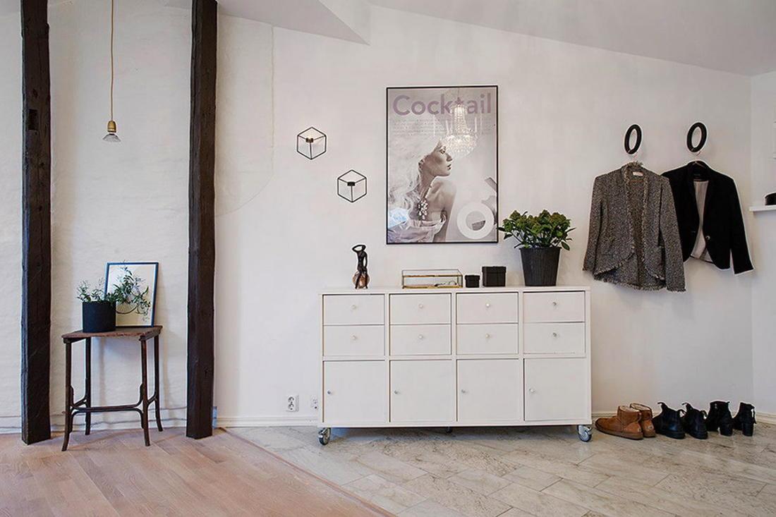 Мансардная квартира в скандинавском стиле 6