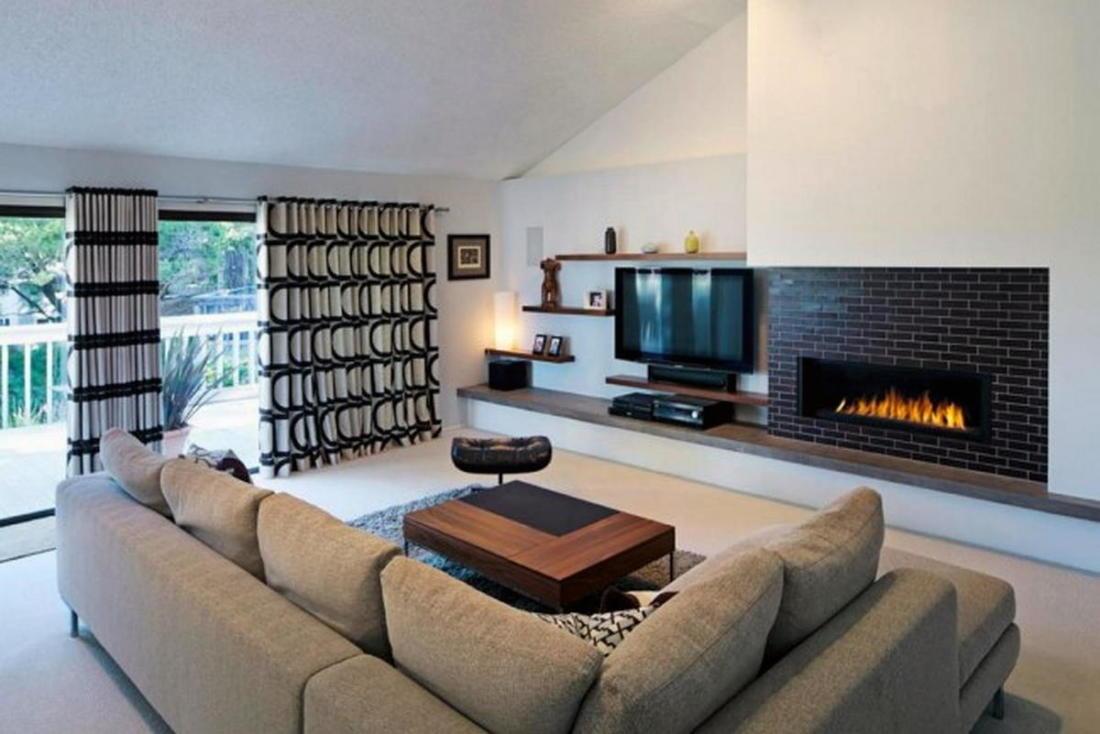 Шторы для гостиной 75 новых идей на фото 012