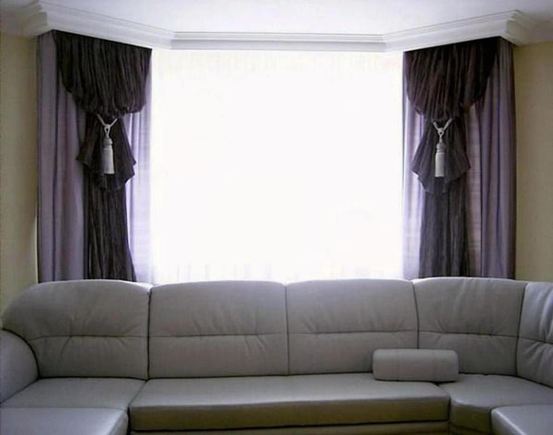 Шторы для гостиной 75 новых идей на фото 056