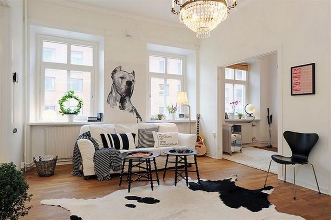 Скандинавский стиль в интерьере 78 фото-идей 48