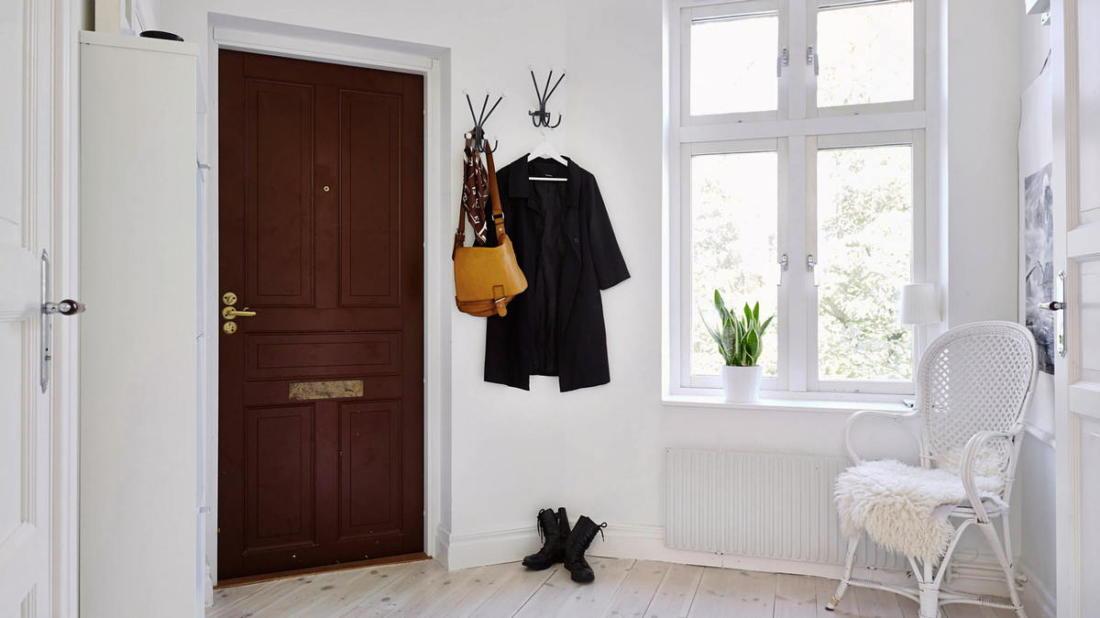 Уют по скандинавски квартира 34 квм 14