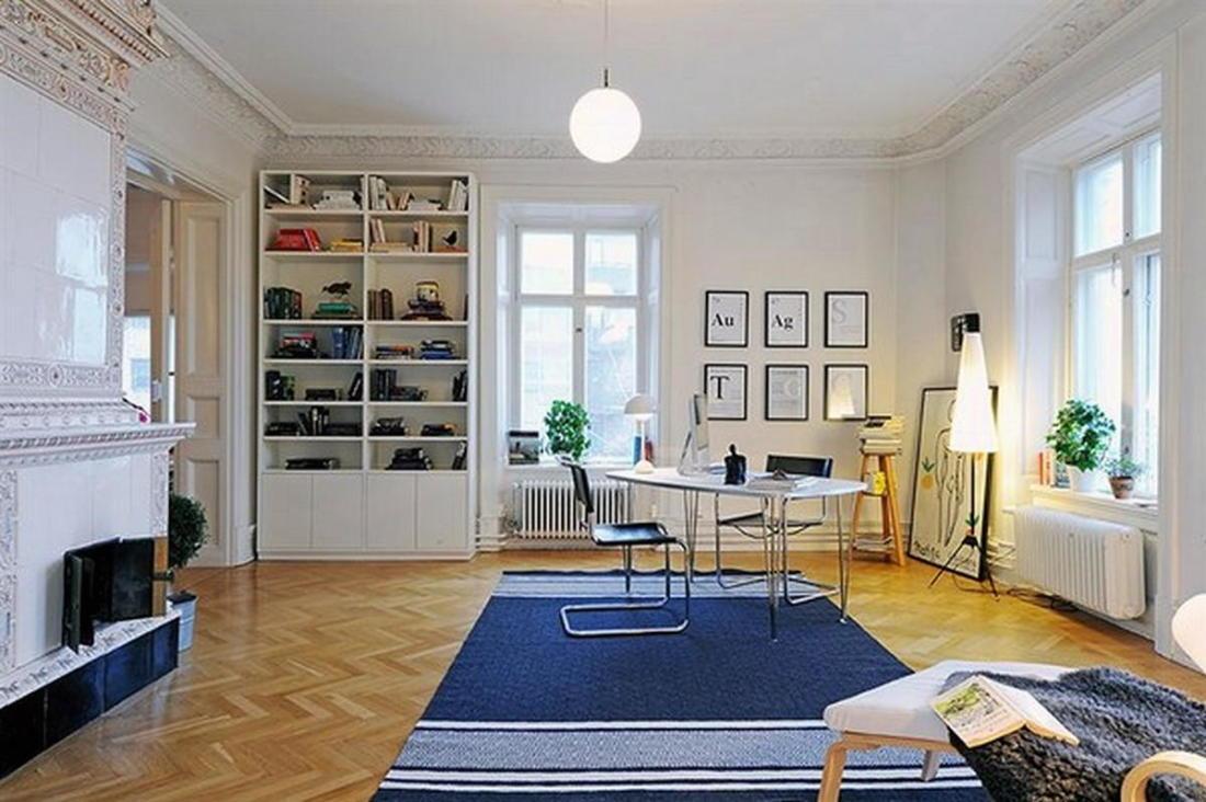 Уют под крышей квартира в скандинавском стиле 11