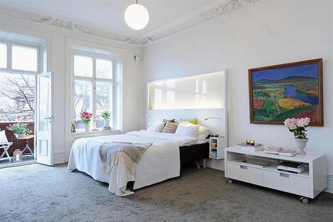 Уют под крышей квартира в скандинавском стиле 14
