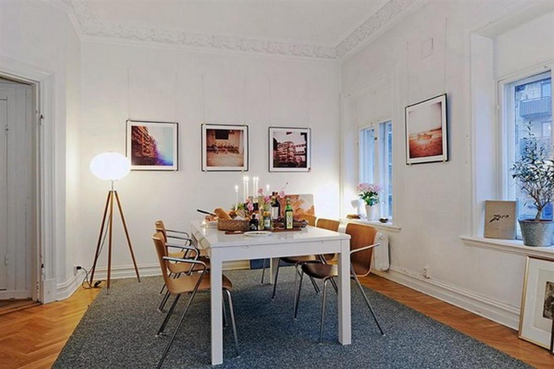 Уют под крышей квартира в скандинавском стиле 17